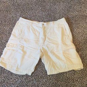 Men's White/Cream Shorts